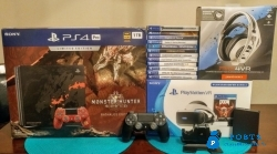buy new Sony PS4 Pro 1TB console with free games $150
