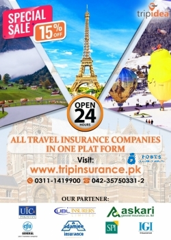 Travel health Insurance (Tripinsurance.pk)