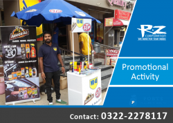 Promotioal Activity | Outdoor Brand Promotion | Karachi