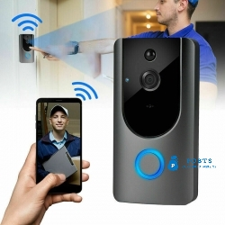 Smart Wireless WiFi Doorbell IR Video Camera PIR Intercom Detection Phone Remote