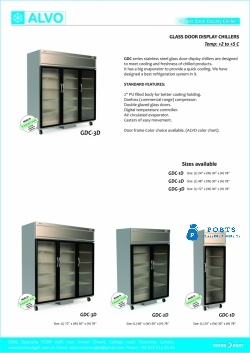 ALVO Rech in Chiller, Rech In Freezer, Multi Deck Chiller, Multi Deck Fridge, Up Right Chiller, UP Right Freezer, Up Right Chiller in Pakistan