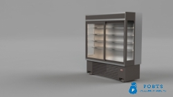 Commercial Up Right Chiller, Glass Door Chiller, ALVO Multi Deck Chiller in Pakistan, Multi Deck Fridge in Pakistan, Open Display Chiller, Refrigerate