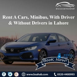 Rent A Cars Minibus With Driver  Without Drivers in Lahore