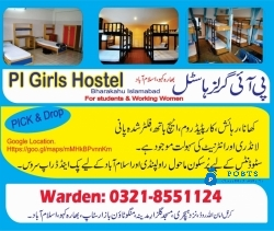 Girls Hostel in Islamabad with Cheap Rates