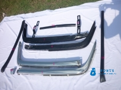 Mercedes benz W107  stainless steel bumpers