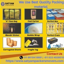 Satyam Packers and movers Lucknow and dehradun