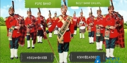 FujiprivatePipe Band for wedding nad other events in lahore