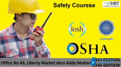 Safety officer course Pakistan