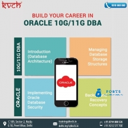 Best Oracle 11g/10g DBA classes in noida From KVCH