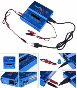 iMax B6AC AC Balance Battery Charger Discharger Lion LiPo/LiFe 1-6 Cells NiCd MH