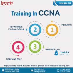 Best CCNA training and certification in noida | CCNA course From KVCH