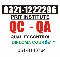 ISO international certifications in Faisalabad