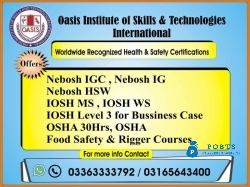 ISO 45001 OHSMS Course in Excellent Institute in Pakistan