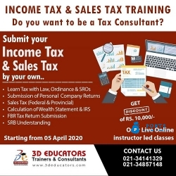 Income Tax And Sale Tax Training