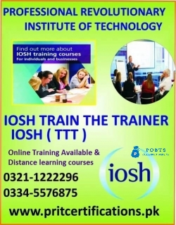 IOSH Train the Trainer Course in Chakwal