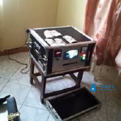 laser jet automatic machine for cleaning