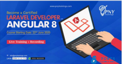 Become a certified laravel developer with angular8
