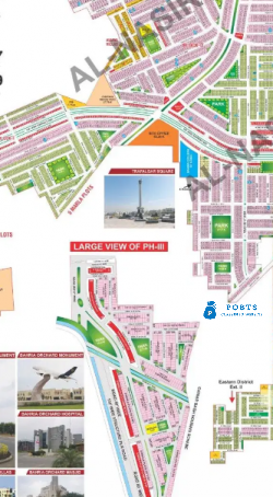 5 Marla G block plot in Bahria orchard for sale