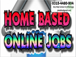 Data Entry Jobs For Home Based Persons.