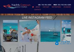 Cancun Private Yacht Charter