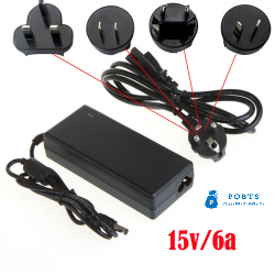 15V 6A AC AC100-240V Power Adapter Supply Charger For IMAX B6 B8 Balance Charger